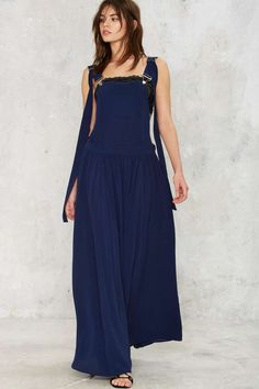 Nasty Gal Stay Overall Maxi Dress - Nasty Gal Collection | Sale: Newly Added | Sale: 40% Off | Best Sellers | Day | Midi + Maxi | Dresses | Dresses