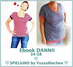 Shirt DANNII 34-58 - SPIELkIND by FUSSELLINCHEN