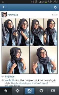 Ranihatta easy no pins hijab tutorial