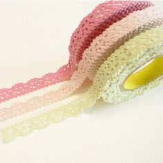 Make your own lace tape.