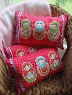 Mulberry Road Babushka Cushion - by MulberryRoad on madeit