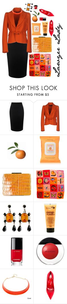 """""""Lawyer lady"""" by crazysupernatural ❤ liked on Polyvore featuring Alexander McQueen, Dsquared2, Burt's Bees, Yazi, Gucci, Tarina Tarantino, I Love..., Chanel, Elizabeth Arden and Alexa Starr"""