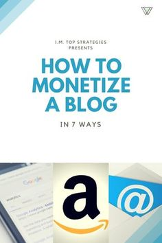 Learn 7 different ways that you can generate full-time income from your blog...