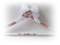 Bridesmaid Hanger Floral Bridal Hanger Spring Dress Hanger