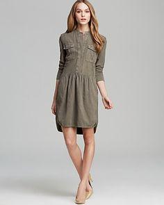 James Perse Shirt Dress - cute!
