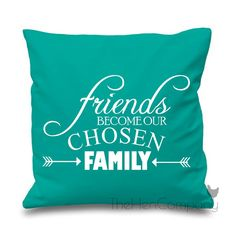 Friends Become Our Chosen Family Quote Saying by TheHenCompany