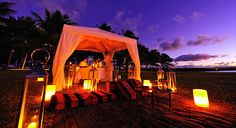 One Resorts Honeymoon & Wedding Registry- what a great idea