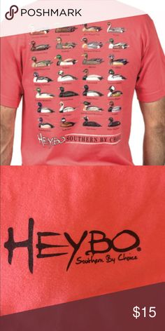 93a02a87 HeyBo shirt Men's medium but fits a little small on me (I'm a women's s/m).  Never worn Shirts Tees - Short Sleeve