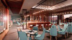 Nuevos interiores con #Sketchup y la última versión de Lumion 7.3, proyecto de Paul Davis. #arquitectura #interiorismo Conference Room, Outdoor Decor, Table, Furniture, Home Decor, Architecture, Interiors, Blue Prints, Decoration Home