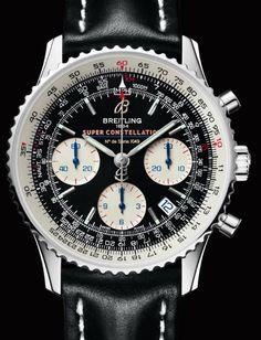 Breitling Navitimer Super Constellation watch (Photos) - Luxist