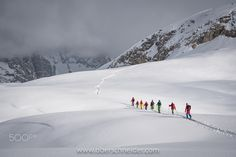 Ski touring in the Dolomites by Christoph_Oberschneider Ski Touring, Cross Country Skiing, Us Images, Snowboarding, Paths, Online Shipping, San, Explore, Photo And Video