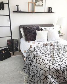 Slaapkamer + letterdecoratie