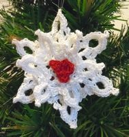 3D Dimensional heart snowflake freebie PDF file. Just stunning, thanks so for the kind share xox