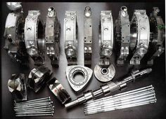 Mechanical Engineering: Rotary engine parts Mazda, Motor Wankel, Wankel Engine, Bike Engine, Combustion Engine, Rx7, Japanese Cars, Mechanical Engineering, Rotary