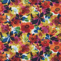 Multi-Color Floral Digitally Printed Cotton Woven