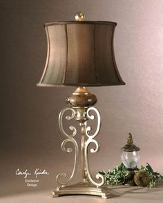 Uttermost 26922 Marcella Table Tuscan Lamp Tuscan Light Fixtures Tuscan Lamps Tuscan
