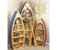 Canoe Shelf...want one of these for the new bathroom to hold my towels!