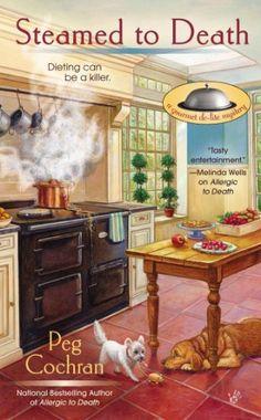 Steamed to Death (A Gourmet De-Lite Mystery) by Peg Cochran, http://www.amazon.com/dp/0425252205/ref=cm_sw_r_pi_dp_adzgrb1Y15WKT