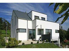 Fertighaus moderne architektur  Fertighaus, Architektenhaus, Moderne Architektur - Büdenbender ...