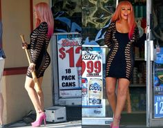 """Loving @ChristinaAguilera in #pink #hair while filming new video, """"Your Body!"""""""