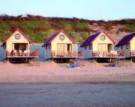 Slaaphuisjes Slapen op strand, Domburg