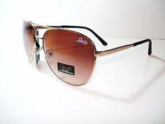 Giselle sunglasses Aviator Women Men Unisex Stylish DG-SL84G Brown Minor Blemish