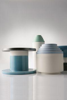 Ettore Sottsass ZZ66A-542 Ceramic Vase - Suite 22 Interiors - Markham Toronto