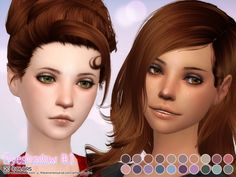 Eyeshadow #1 at Aveira Sims 4 via Sims 4 Updates