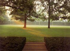 Miller House and Garden, Dan Kiley landscaping