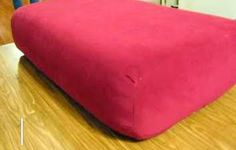 How to Re-Cover Couch Cushions (includes the world's best sewing technique ever!) | DC's Creations