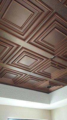 Schoolhouse - Faux Tin Ceiling Tile - 24 in x 24 in - - Decorative Ceiling Tiles, Inc. - - Schoolhouse - Faux Tin Ceiling Tile - 24 in x 24 in - - Decorative Ceiling Tiles, Inc. Drop Ceiling Tiles, Faux Tin Ceiling Tiles, Ceiling Plan, Home Ceiling, Ceiling Panels, Ceiling Ideas, Bedroom False Ceiling Design, False Ceiling Living Room, Tips And Tricks
