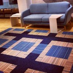 Buy Upcycle-Magenta carpet tile by FLOR Living Room Mats, Black Carpet, Heaven Sent, Carpet Tiles, Family Room, Upcycle, Hallway Ideas, Rugs, Magenta