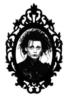 Edward Scissorhands (Framed Horror) Art Print by Framed In Blood Art