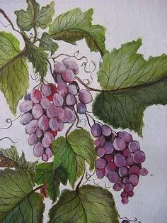 acrylic painting grapes - Bing Images by margo
