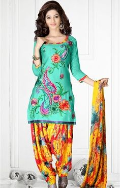 Patiala Salwar Kameez Custom made available at Royal Threads Boutique. WhatsApp: +919646916105