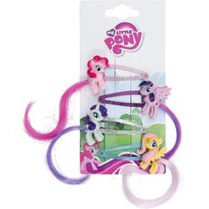 Hair Clips - Hårnål af My Little Pony