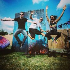 Hardwell: Having fun at Tomorrowland with Steve Aoki and Afrojack! Aly And Fila, Krewella, Alesso, World Of Tomorrow, Steve Aoki, Best Dj, Edm Festival, Armin Van Buuren, Animal Party