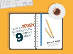How to design an infographic in 9 simple steps by Katai Robert via slideshare