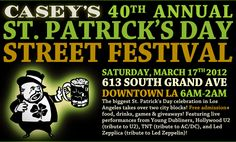 St. Patrick's Day Festival- downtown