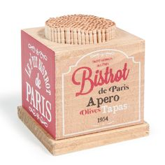 "Palillos bar ""bistrot de Paris"""