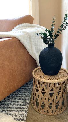 Diy Crafts For Home Decor, Upcycled Home Decor, Fun Diy Crafts, Fall Home Decor, Boho Diy, Decoupage, Ikea, New Room, Home Interior Design