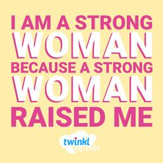 From one mother to another. Share this with your strong woman. We Are Strong, Strong Women, Awesome Thoughts, Unsolicited Advice, Interactive Activities, How To Wake Up Early, Bullet Journal Inspiration, Quotes About Strength, Make Time