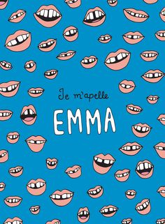 Blue is the Warmest Colour inspired print by Julieta Felix – $15.00 A little fan art inspired by the character Emma. I thought her mouth was lovely so I tried to capture the essence of her when she...