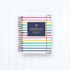 10 reasons why you need a simplified planner by Emily Ley! Best planner ever!