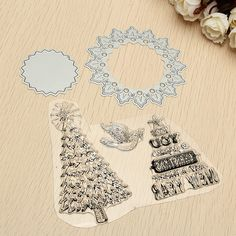 Find More Cutting Dies Information about 1Set Christmas New Year Cutting Dies Stencil and Clear Stamp For DIY Scrapbook Embossing Album Paper Card Decor Painting Tool,High Quality stamp for diy scrapbooking,China cutting dies Suppliers, Cheap stamp stamp from Firon Technology Co., Ltd.  on Aliexpress.com
