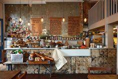 An Insider's Guide To Brighton Restaurants Cafe Bar, Cafe Bistro, Cafe Restaurant, Brighton Cafe, Brighton And Hove, Brighton England, Cornwall, Brighton Restaurants, Rustic Cafe
