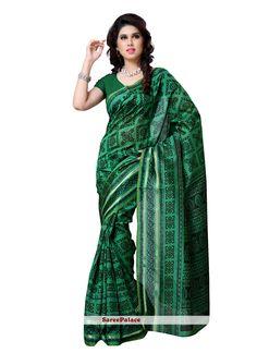 Stunning Art Silk Casual Saree