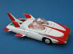VERY RARE 1950s JAPAN ALPS FUTURISTIC BATTERY OPERATED TINPLATE ROBOT SPACE CAR   eBay
