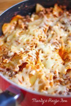 Mandy's Recipe Box: Busy Day Lasagna Toss