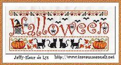 Mes créations - Grille n°88 Maman (… - Grille n°87 Muguet… - Grille n°86 St… - Halloween _Post-it_ - Grille n°84… - Point De Croix novalee02